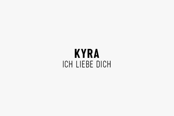 KYRA – Ich Liebe Dich
